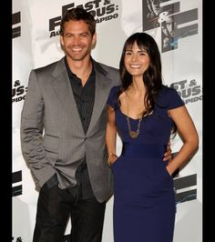 Paul Walker and Jordana Brewster attends Fast and Furious photocall at the Santo Mauro Hotel on March 25, 2009 in Madrid, Spain