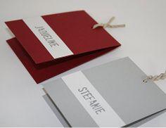 """Platzkarten Hochzeit aus der Serie """"Be Pure in ..."""" http://www.aylando.de/html/hochzeitskarten_tischkarten.html"""