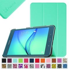 Fintie Samsung Galaxy Tab A 8.0 Tablet SM-T350 Case - Ultra Slim Stand Cover with Auto Sleep/Wake, Mint Green