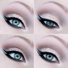 Eyes makeup inspiration - #sparkling #eyes #makeup