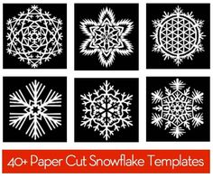 Free Download: 40+ Paper Snowflake Templates » Curbly | DIY Design Community