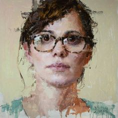 Theresa, Oil on Panel 24x24, Private Collection Jacob Dhein