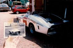 Chris Rea's Ferrari 250 LM Replica rear and nearside bodywork, finished with original Le Mans photo Chris Rea, Man Photo, Le Mans, Vintage Cars, Ferrari, Photo Galleries, Panelling, Music, Musica