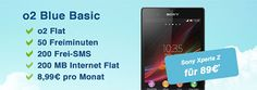 o2 Blue Basic mit Sony Xperia Z für 89 EUR http://www.simdealz.de/o2/o2-blue-basic-mit-sony-xperia-z-fuer-89-eur/