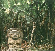 Alto de los idolos, Colombia