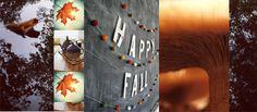 happy fall, autumn, warme kleuren