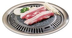 Korean BBQ Stone Grill BBQ Pan, Stone Plate Stovetop Barbecue Native Rock Steak Chicken Ribs Pork Belly Grill Pan