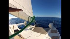 the catamaran is not only easy to sail but is also a luxurious yacht to enjoy comfort while you sail.