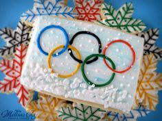 WInter Olympic Cookies by Melissa Joy