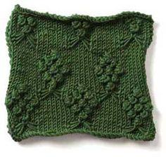 Stitch Gallery - Bouquets   Yarn   Free Knitting Patterns   Crochet Patterns   Yarnspirations