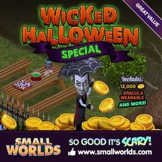 Have a Wicked Halloween... go on, you know you want to!