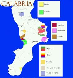Italian wine regions: Calabria