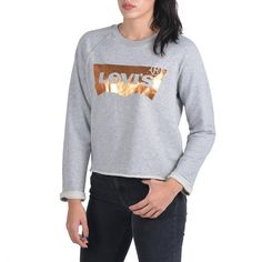 Levis, Sportswear, Sweatshirts, Sweaters, Shopping, Women, Fashion, Moda, Fashion Styles