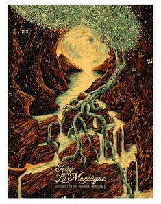 Ray LaMontagne Red Rocks (AP Edition of 50) – James R. Eads Illustration