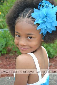 Flache Twists zum Afro | 21 schnelle Kinder-Frisuren Für sehr beschäftigte Eltern