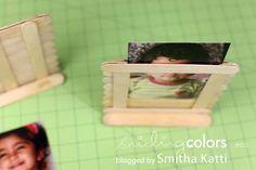 Marcos de Fotos con Palitos de Paleta [ Popsicle Photo Frames ] #MakeItWithKids!
