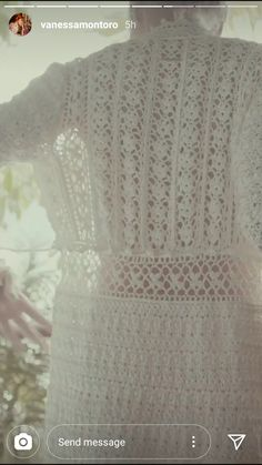 Vanessa Montoro, Number, Knitting, Lace, Women, Fashion, Crochet Dresses, Beauty, Embroidery