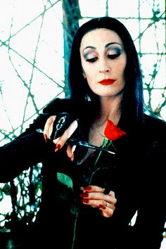Morticia: Children, this is Miss Jellinsky, our new Nanny. What do we say? Wednesday: Be afraid, be very afraid.