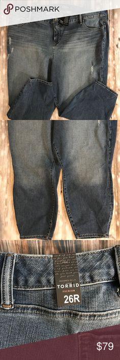 870727959d6 Size 26 Plus Torrid Blue Jeans Torrid torrid Jeans Straight Leg