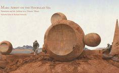 adrift on an hourglass sea nasa mars