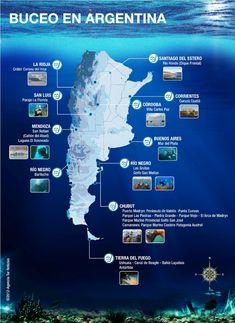Buceas en Argentina? A cual de estos lugares vas?
