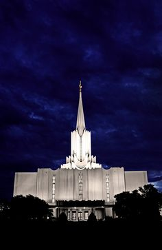 The Jordan Temple, LDS, mormon