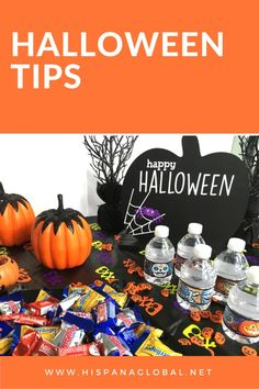 These Halloween tips make it extra special for kids. Create a spooky hydration station, serve fruit inside small Jack O Lanterns, and make sure to teach them safety tips, too.