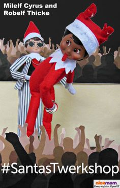 The Elf on the Shelf: 2013 Pop Culture Edition | More LOLs & Funny Stuff for Moms | NickMom