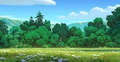 Forest Background, Background Drawing, Animation Background, Landscape Concept, Fantasy Landscape, Landscape Art, Environment Concept Art, Environment Design, Anime Night