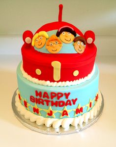 Little Einsteins birthday cake - Sweets by Millie