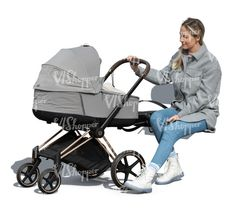 cut out woman sitting and rocking a baby carriage Cut Out People, Baby Carriage, Baby Strollers, Woman, Children, Baby Buggy, Baby Prams, Young Children, Boys
