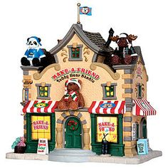 Lemax Christmas Village -- Make-A-Friend Teddy Bear Studio (wish list)