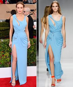 Runway to the SAG Awards: The Stars Who Got to Wear Gowns Fresh From Couture Fashion Week from InStyle.com