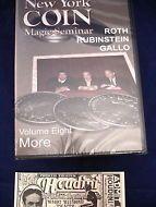 DVD NEW YORK COIN MAGIC SEMINAR ROTH RUBINSTEIN GALLO VOL.8