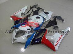 Black & Red 2007-2008 Honda CBR600RR Kings Motorcycle Fairings