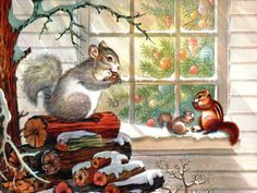Christmas in Vermont: All creatures great and small delight in the Christmas season!