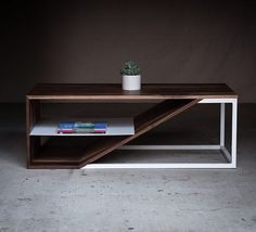 """On designmilk.com: sharing the modern wood and metal furnishings of @harkavyfurniture."""