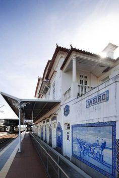Estação de comboio de Aveiro