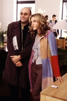 Stanford & Carrie assess Aidan for the first time #SATC - Kobal photo - HarpersBAZAAR.com