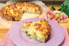 Lauch-Möhren-Quiche Low Carb. Ein deftiger Gemüsekuchen aus dem warmen Ofen. Wohlfühlküche, wie ich sie am liebsten mag.