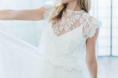 "Robe de mariée ""Lys"" #robedemariee #createur #mariee #madeinfrance #surmesure #weddingdress"
