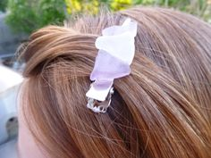 Seaglass Hair Clip Set Of Two by BeachBumsLife on Etsy #hair #clip #seaglass #sea #glass #purple #mermaid #mermaidhair #beach #beachhair #summer #summer2014 #etsy #maine #maineteam #etsymaineteam