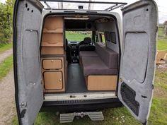 Ford transit connect camper van