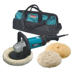 Makita 9227CX3 7-Inch Hook and Loop Electronic Polisher-Sander with Polishing Kit --- http://www.amazon.com/Makita-9227CX3-Electronic-Polisher-Sander-Polishing/dp/B0001GUE8Q/?tag=ceonet-20