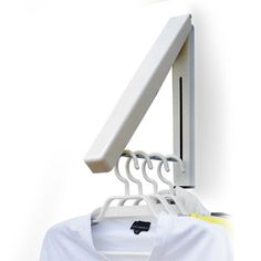 Mini multifunctional bathroom balcony hrsgs retractable drying rack contraction type wall mounted hanger-inClothes Pegs from Home & Garden o...