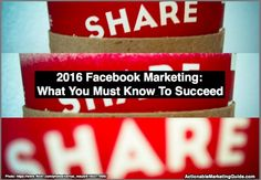 2016 Facebook Marketing: What You Must Know To Succeed http://heidicohen.com/2016-facebook-marketing/ via HeidiCohen