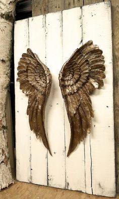 Wall Decoration – Angel Wing Mural Decoration Angel Wing – a unique product by … - New Deko Sites