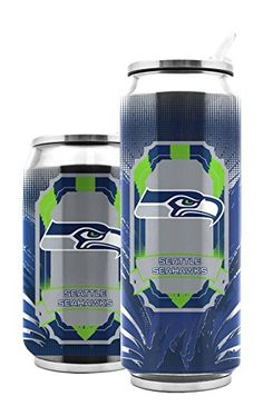 NFL Seattle Seahawks SS Thermo Can