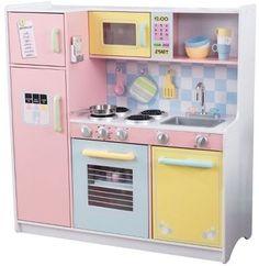 amazon: kidkraft deluxe big & bright kitchen: toys & games