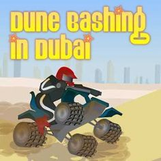 Dune bashing in Dubai is an action packed Sports Game where you have to ride a quad bike through the dangerous desert landscape of Dubai. Ride your bike up the sand dunes and maintain your balance as you make your way to the finish. There will be times when you will have to make big jumps and there will be times you will have to ride down steep dunes carefully. This game is not about speed to skill.